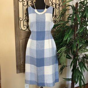 J.jill plaid dress